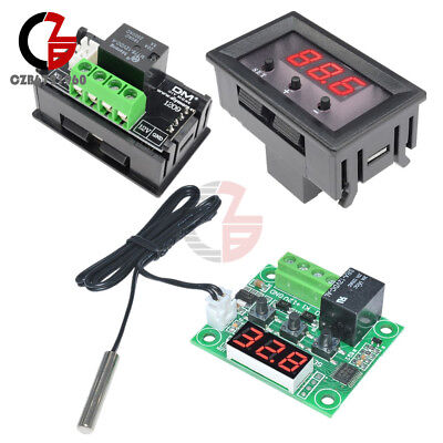 W1209 12V Digital -50-110°C Thermostat Temperature Controller Switch Sensor+Case