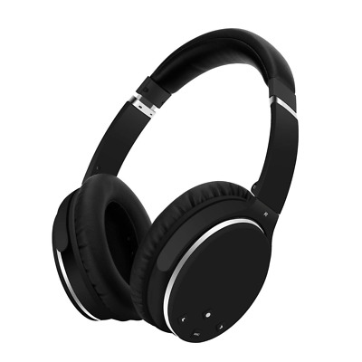 Active Noise Cancelling Foldable Bluetooth Wireless Over Ear Headphones US SHIP