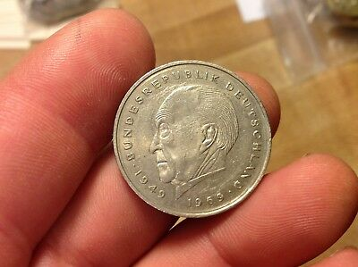 1983-F GERMAN 2 MARK Coin, GERMANY