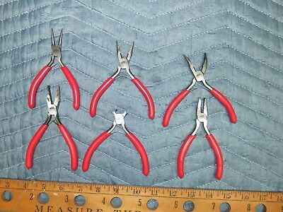 "MAC TOOLS 6PC ""P"" Plier Set- RED"