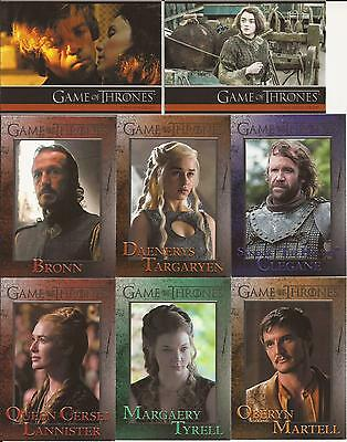 Game of Thrones Season 4 Trading Cards - Basis Set (100 Karten)