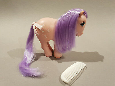 G1 Mein kleines - My little Pony - Butterscotch /Blossscotch - MACAU (re-haired)
