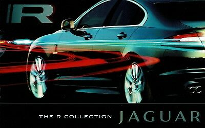 2009 Jaguar R Collection XKR XFR Coupe Convertible Deluxe Sales Brochure