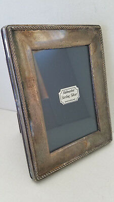 Carrs of Sheffield Vintage Hallmarked Solid Sterling Silver 925 Picture Frame