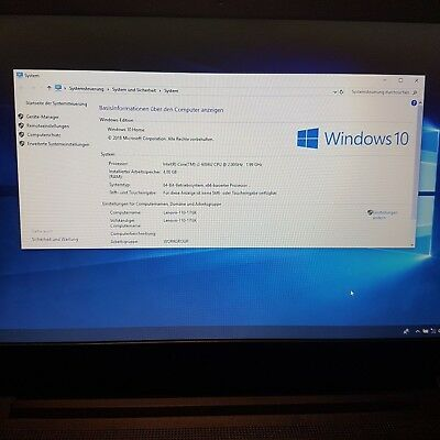 "Lenovo Ideapad 110-17ISK 17"" Notebook Intel Core i3 4GB Ram Windows 10"