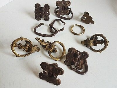 Vintage Lot of Dresser Handles Drawer Pulls