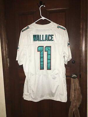 7e805781 MENS NFL FOOTBALL Miami Dolphins Mike Wallace #11 Jersey Sz: Small ...