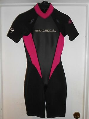 44ab542cd3 ONEIL KIDS SPRING Wetsuit Size 8 -Hammer 2mm-Black navy lime Green ...