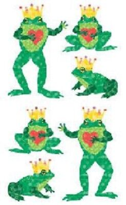 Half Strip Frog With Red Heart /& Gold Crown Mrs Grossman SPARKLE FROG PRINCE