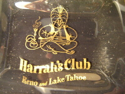 Vintage Harrah's Club Reno And Lake Tahoe Nevada Small Dish Or Ashtray