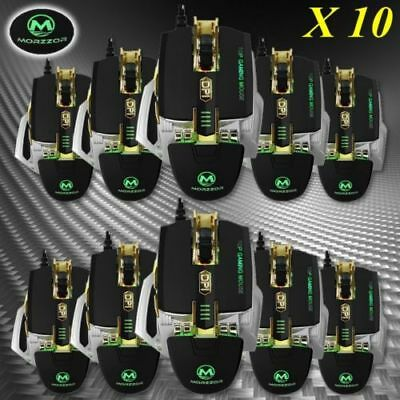 4000 DPI Mechanical Optical Gaming Mouse Professional Wired Mouse Colorful LOT