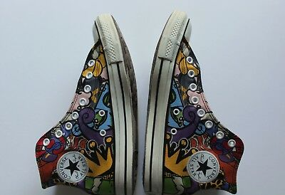 37c29696ac96 CONVERSE Chuck Taylor All Star High Top  100038F Sticker Graffiti Print MEN  8