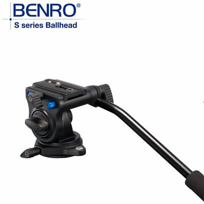 Benro S2 Pro Video Heads Aluminum Hydraulic Head  QR4 Quick Release System