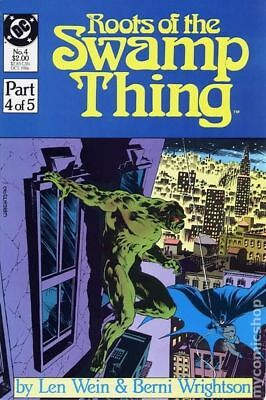 Roots of the Swamp Thing #4 1986 VF Stock Image