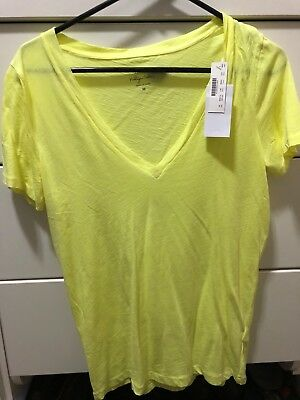 j crew womens vintage t shirt size med NWT