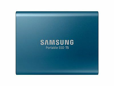 Samsung SSD 250 GB T5 Type C 540MB/s Portable Solid State Drive New ct