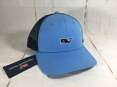 96a4de3e81a NEW VINEYARD VINES High Profile Mens Snapback Trucker Cap Hat ...