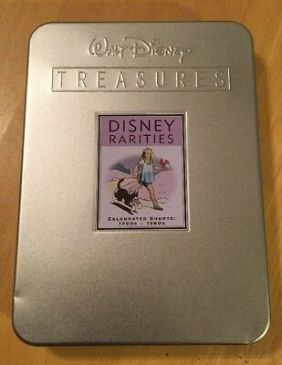 Walt Disney Treasures: Disney Rarities - Celebrated Shorts 1920s - 1960s (DVD, 2