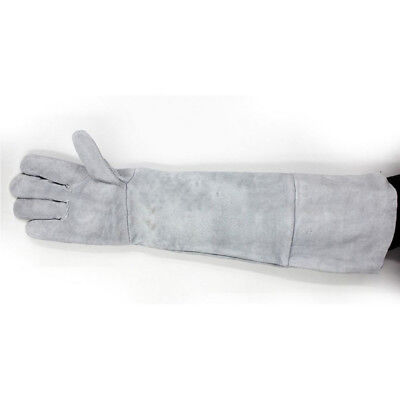 Welding Hand gloves Heat insulation Wear-resistant 1 Pair Protective Cowhide