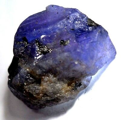 50.90 Ct Natural Violet Blue Tanzanite Untreated AGSL Certified FACET  Rough