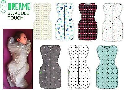 SALE DREAME Swaddle Pouch Newborn infant baby love to sleeping bag