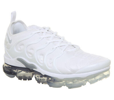 sports shoes 718a1 b0728 NIKE AIR VAPORMAX Plus White Pure Platinum Wolf Grey UK 9 NEW Off White TN