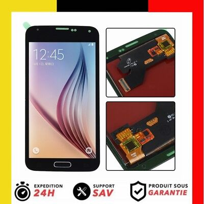 Für Samsung Galaxy S5 SM-G900F LCD Display Glas Touchscreen&Button Schwartz Neu