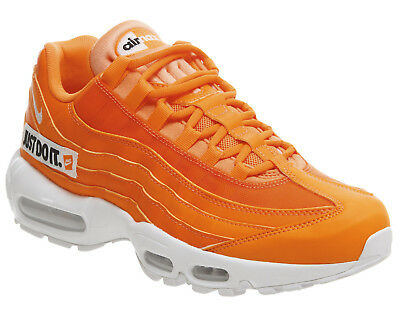 super popular 665dc 71389 Nike Air Max 95 SE Just Do It JDI Total Orange UK 6 Trainers