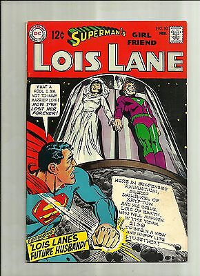 Supermans Girlfriend Lois Lane #90 1968 Silver Age Dc Comics  Neal Adams Art