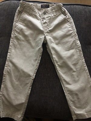 Mayoral Boys Beige Trousers/chino Age 4 Preowned