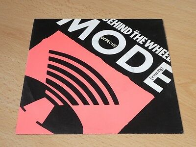 "7"" Single: Depeche Mode – Behind The Wheel (Remix) / Route66"