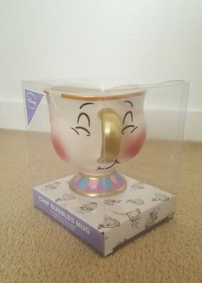 Disney Chip Mug Beauty And The Beast bubbles Cup 3D Disney-2018 Primark