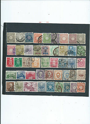 uralte Briefmarken aus China und Japan,