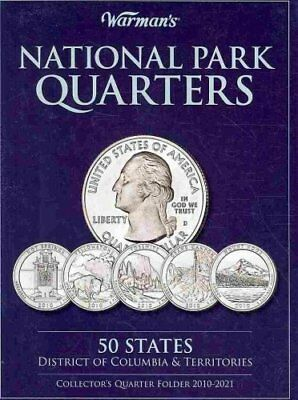 Warman's Collector Coin Folders: National Parks Quarters : 50 States District...