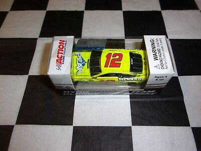 Ryan Blaney #12 Menards Can-Am Duel #1 Win 2018 Fusion NASCAR Action 1:64 scale