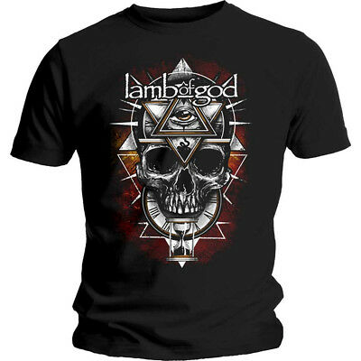 Lamb Of God 'All Seeing Red' T-Shirt - NEW & OFFICIAL