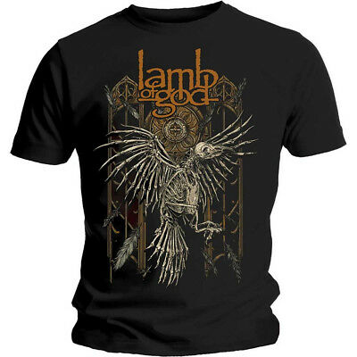 Lamb Of God 'Crow' T-Shirt - NEW & OFFICIAL