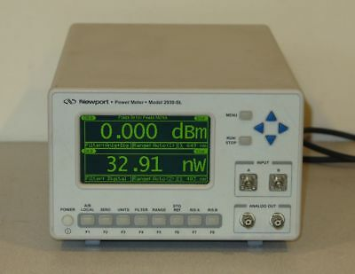 Newport 2930-SL Dual Channel Optical Power Meter