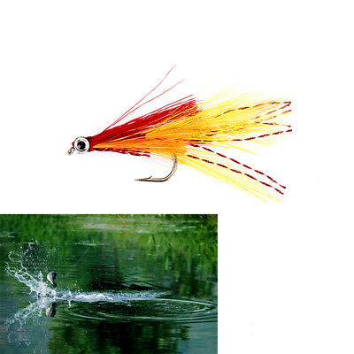 5pcs trout salmon steelhead fly fishing flies dishing lures flying accessories G