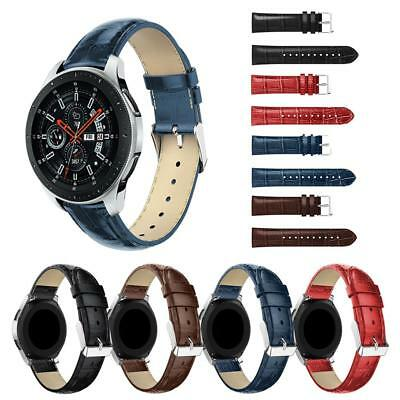 Replacement Leather Watch Bracelet Strap Band For Samsung Gear S3 Classic 46mm