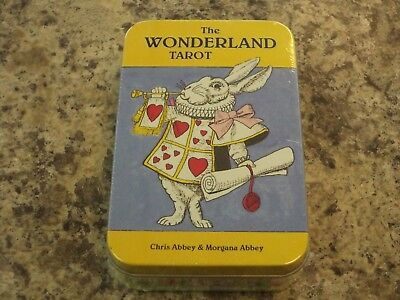 The Alice in Wonderland Tarot Deck Fortune Telling Oracle Cards US Games New!