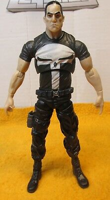 "Marvel Legends Nemesis series 6"" PUNISHER figure loose"