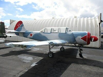 1991/2001 Yak 52, 848 Hours Since Iran And Westernizing, Taxi Damage, Nice,cheap