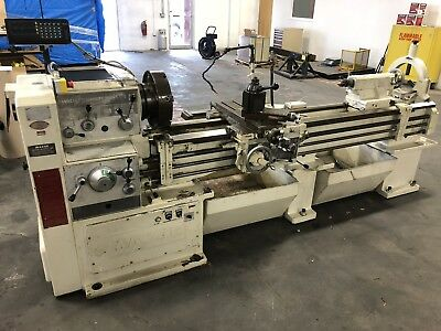 "Mazak 18"" X 84"" Heavy Duty Engine Lathe DRO"