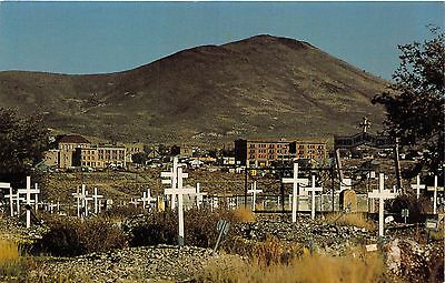 Goldfield Nevada Mining District~Ghost Town Cemetery Postcard
