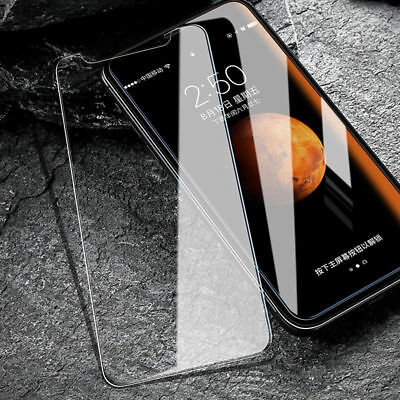 For Apple iPhone XS Max XR 9H Premium Tempered Glass Screen Protecter Film Cover