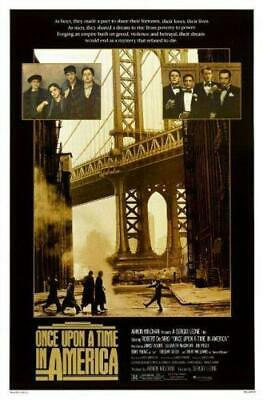 Poster Once Upon A Time In America C'era Una Volta In America Robert De Niro #2