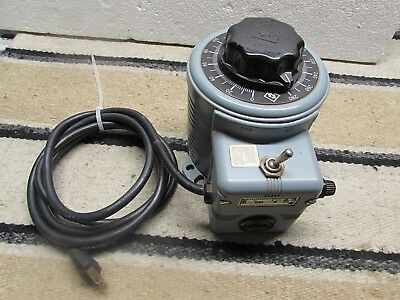 Exc Working Superior Electric Powerstat Variable Autotransformer 216B