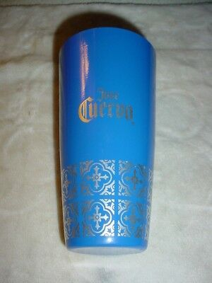 Jose Cuervo Tequila Stainless Steel Metallic Blue/silver Cup