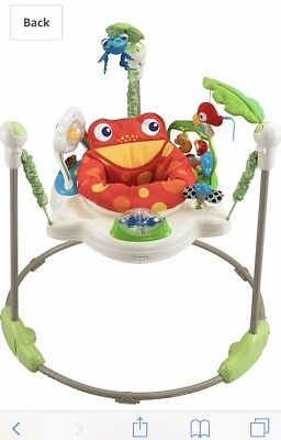 Fisher-Price Rainforest Jumperoo Very Good Condition.